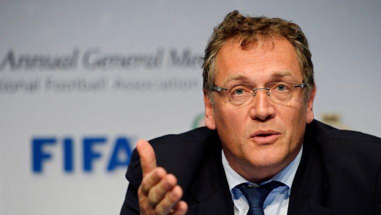 Jérôme Valcke, de voormalige nummer twee van de FIFA.