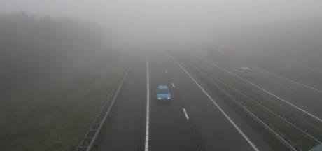 Waarschuwing voor dichte mist in hele land