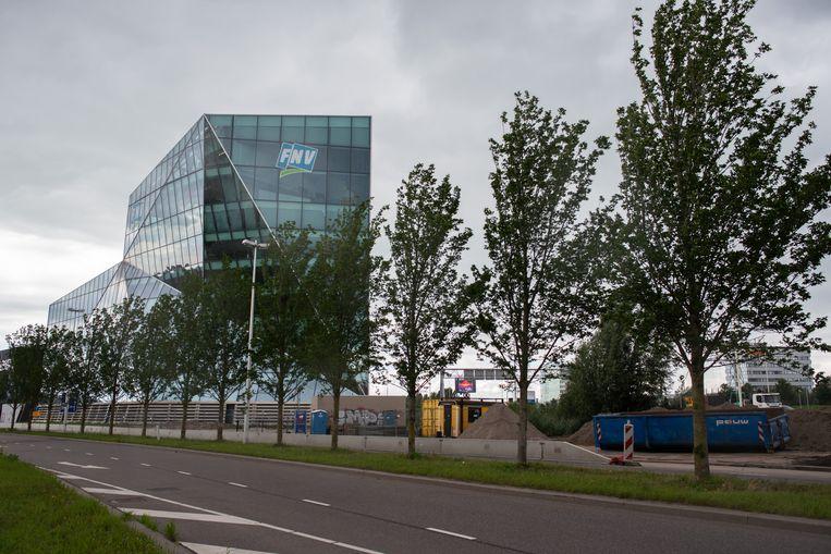 Het gebouw van de FNV bij Utrecht. Beeld Sabine van Wechem