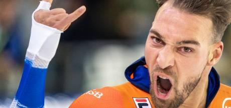 Kjeld Nuis wint 1500 meter in fenomenaal baanrecord