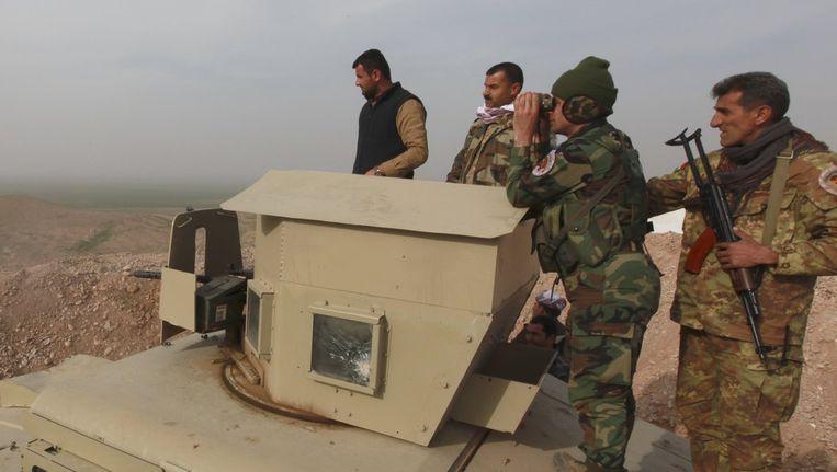 Koerdische Peshmerga-strijders