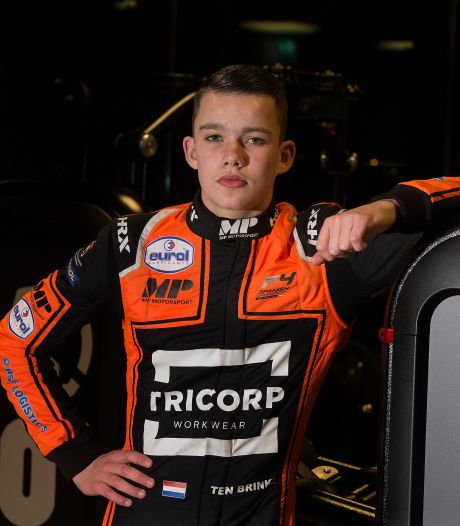 Voor Zeddammer Thomas ten Brinke is zege in Formule 4 pas het begin