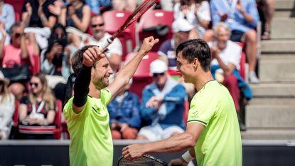 De trein is vertrokken: Gille en Vliegen veroveren tweede ATP-titel - Van Uytvanck en Minnen treffen elkaar