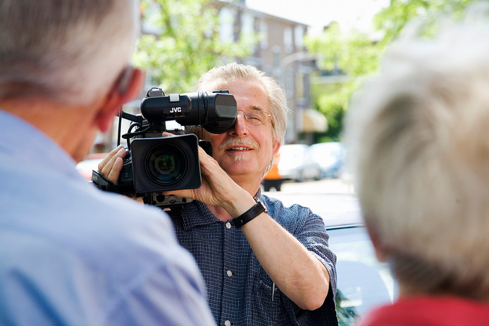 Filmmaker Frans Bromet.
