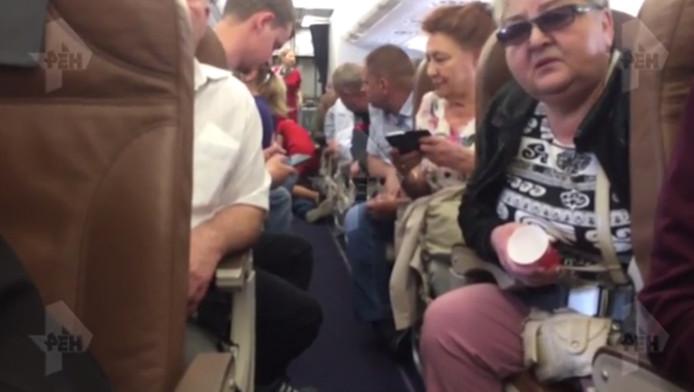 De passagier zorgde voor flinke problemen op de vlucht.