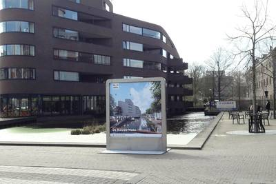Verdiepte Nieuwe Mark stroomt al door Bredase binnenstad