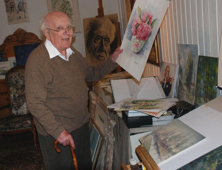 Arthur Peeters toen hij 90 jaar werd.