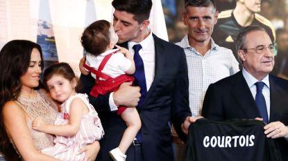"""Bernabeu aan de voeten van Courtois: """"Financieel kon ik betere keuzes maken, maar als Real Madrid roept dan ga je. En ik wou terug dicht bij mijn kinderen zijn"""""""