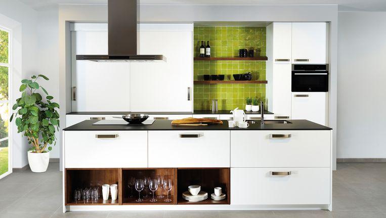 Strakke elegante keuken dankzij frontlaminaat nieuws hln
