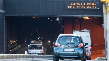 Leopold II-tunnel uur dicht door gaslek