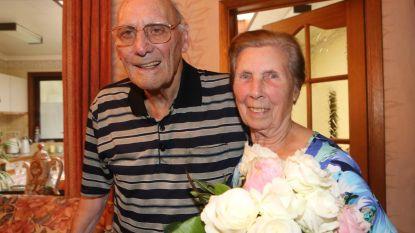Platina huwelijk voor Roger en Maria
