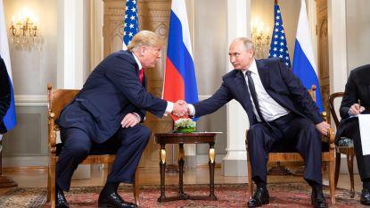 """Trump nodigt Poetin uit naar VS, maar waarschuwt: """"Geen sprake van dat Rusland Amerikaanse burgers zal ondervragen"""""""