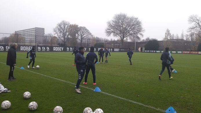 Willem II in de aanloop naar de wedstrijd tegen Fortuna Sittard.