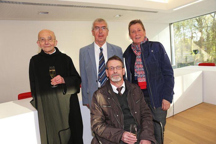 Dom Wilfried Verleyen, Leo De Rijck, Wilbert De Leyn en Mia Kerstens stonden aan de wieg van Belledaal.