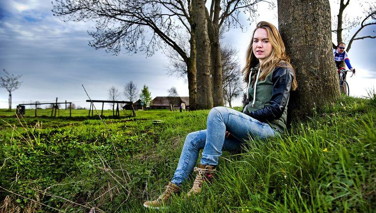 Anna van der Breggen: 'Op trainingskamp heb ik honger. Dan denk ik niet aan God, maar aan het eten.' Beeld Klaas Jan van der Weij