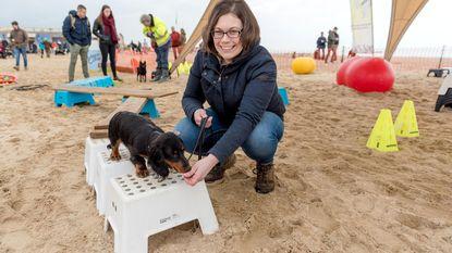 Honden (en baasjes) dollen laatste keer op strand