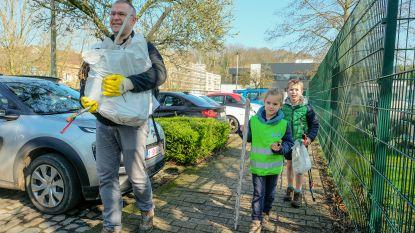 Inwoners zetten beste beentje voor  om zwerfvuil op te ruimen
