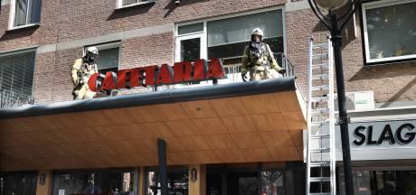 Brand in afzuiginstallatie cafetaria in Erp, vijftien mensen uit woningen gehaald