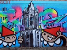 Utrecht heeft zijn eigen Banksy, met een grote bek en een rode puntmuts