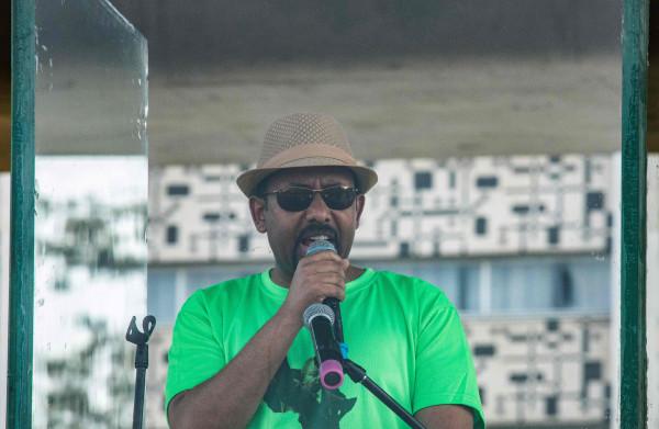 **Hervormingsgezinde premier Ethiopië overleeft aanslag tijdens manifestatie**