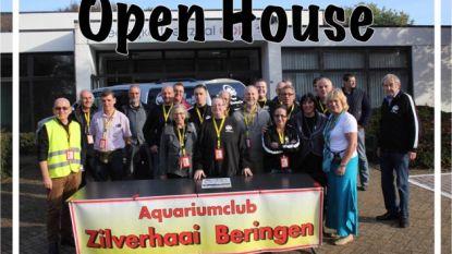 'Open House' bij Aquariumclub Zilverhaai