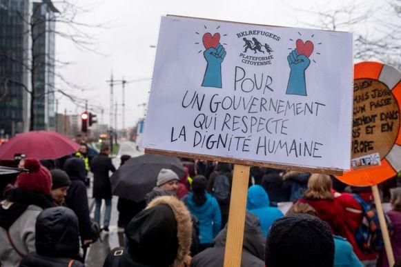 """""""Voor een overheid die de menselijke waardigheid respecteert."""""""