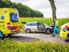 Gezin met jonge kinderen naar het ziekenhuis na ongeval in Someren