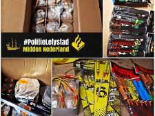 Politie stuit op lading illegaal vuurwerk in woning Lelystad, bewoner (39) opgepakt