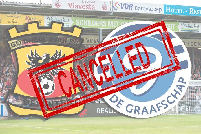 De gemeente Deventer heeft GA Eagles-De Graafschap op 6 september verboden.