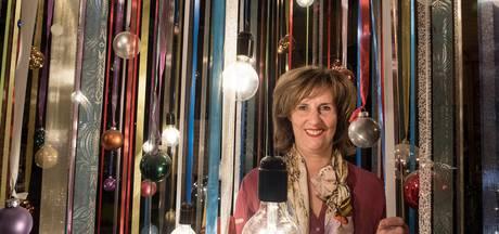 Anita's kerstshow in Ottersum, om mensen blij mee te maken