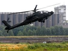 Apaches weer de lucht in voor oefening in regio Gorinchem en Altena