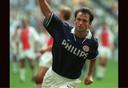 Marc Degryse in actie als PSV'er, eind jaren negentig van de vorige eeuw.