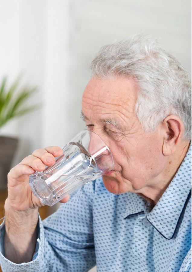 Genoeg water drinken is bij deze temperaturen de boodschap.