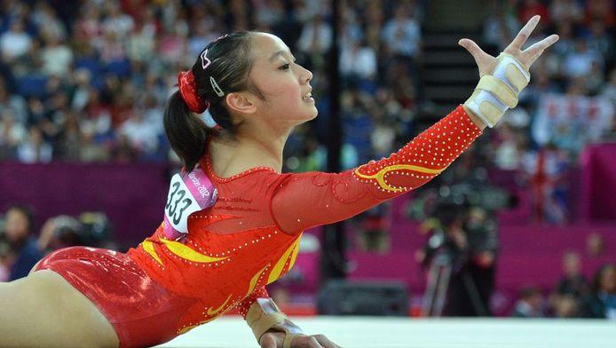 De Chinese Huang Qiushuang is fan van de 'scrunchie'