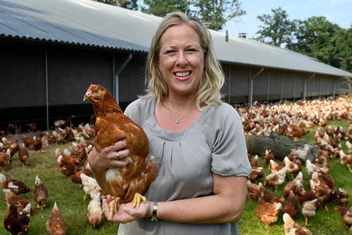 Kippenboerenvoorvrouw Hennie de Haan