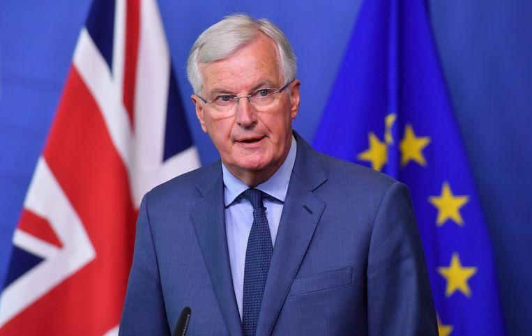 Michel Barnier, Europees hoofdonderhandelaar voor de Brexit.