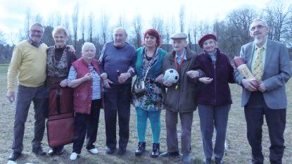 Oudjes in Sint-Jozef worden WK-gek met De Kampioenen