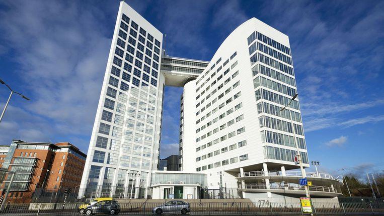 De gebouwen van ICC en Eurojust in Den Haag.. Beeld ANP