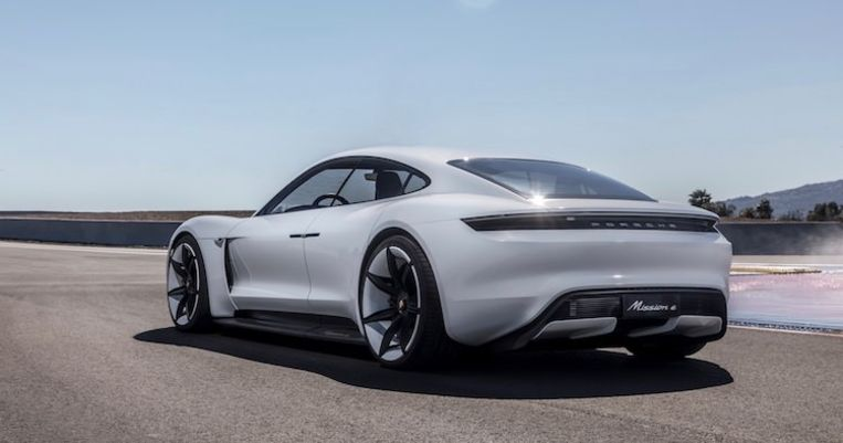 De Porsche Taycan