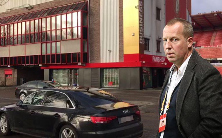 De speurders gingen langs bij Standard-voorzitter Bruno Venanzi en op Sclessin.
