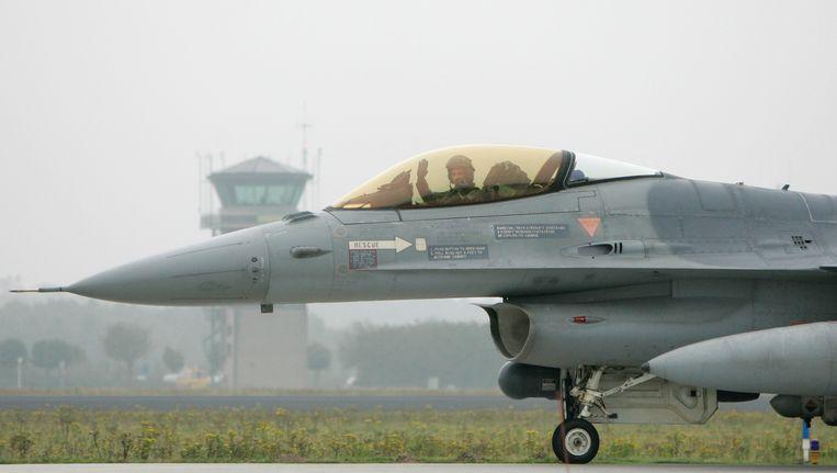 2007: F-16 in Leeuwarden. Beeld ANP