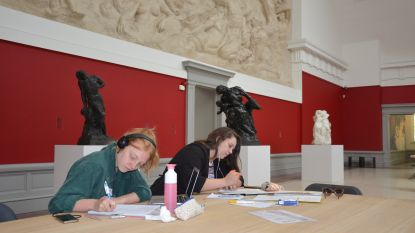 Studeren in MSK tussen kunst van Rodin en Lambeaux