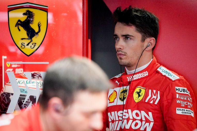 De Monegaskische Ferrari-coureur Charles Leclerc, zijn grootvader Carles Manni stichtte Foreplast.