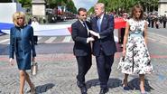 Trump laat zich inspireren door Franse nationale feestdag en wil ook een militaire parade op 4 juli