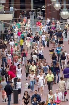 Eindhoven meeste winkelleegstand van de vijf grote steden