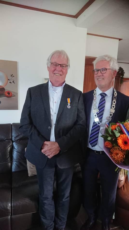 Anton Rijnart (72, Zevenbergen) - Lid in de Orde van Oranje-Nassau