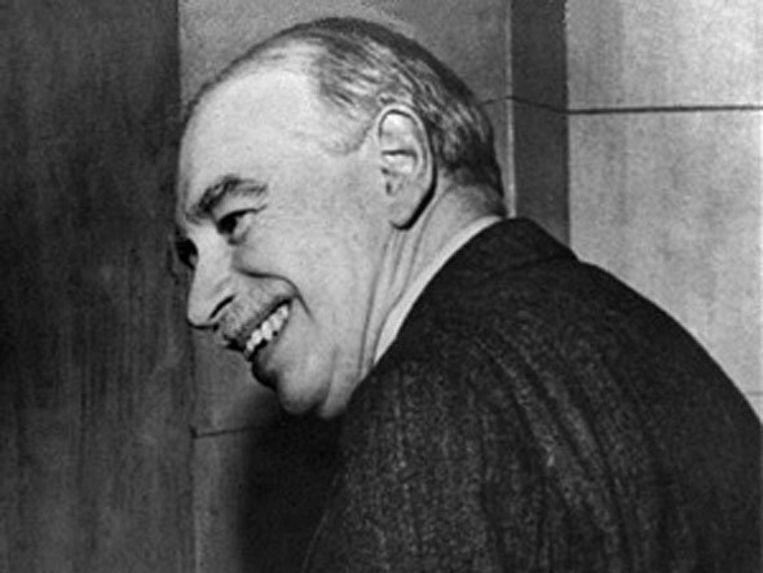 John Maynard Keynes. Beeld null