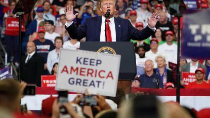 'Keep America Great!': Trump gaat volop voor tweede termijn en schetst horrorbeeld van VS onder Democraten