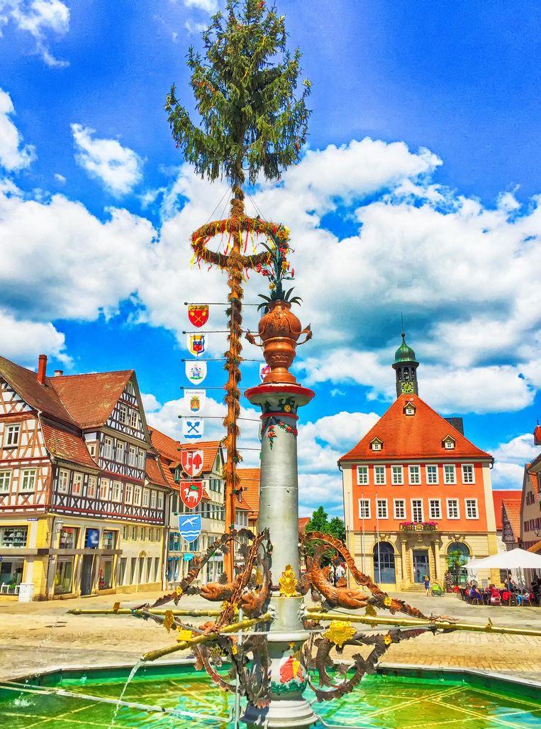 Het centrum van Schorndorf (archieffoto).