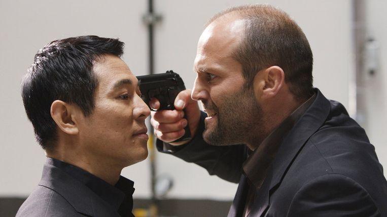Jet Li en Jason Statham in War van Philip G. Atwell Beeld